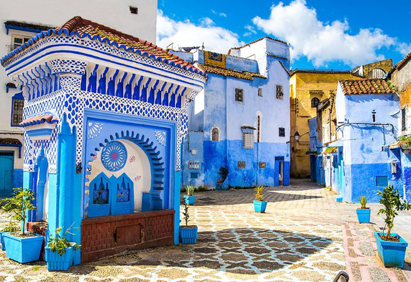 4 Days Private Morocco Desert tour from Marrakech to Chefchaouen