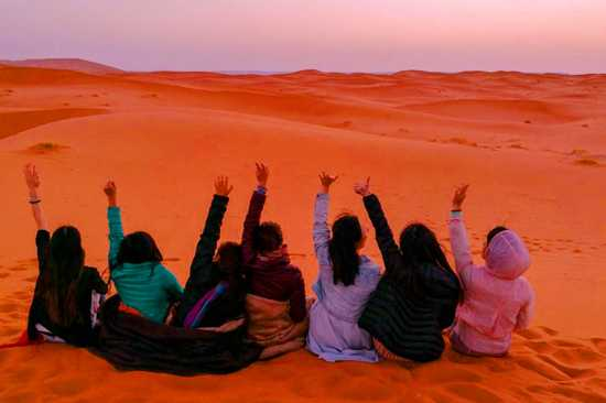4 Days Trip from Marrakech to Erg Chebbi